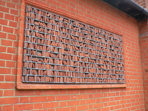 Wimbledon Library wall-art - a photo on Flickriver