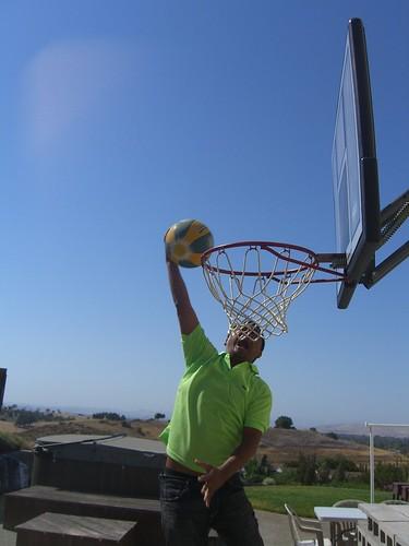 Basketball vertical leap