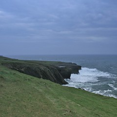 fresh (limerickdoyle) Tags: ocean ireland sea coast waves wind blowing cliffs atlantic breeze countyclare iphotoedited efs1785mm loophead canon400d cokinp122