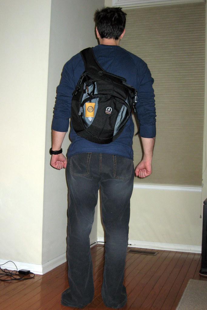 New bag - Tamrac Velocity 8x