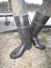 Bottes Baudou non toilées (pascal en bottes) Tags: boots goma rubber pascal wellies gummistiefel bottes botas gomma caoutchouc stivali