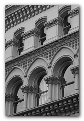 """Abstract in Architecture - 3 (Ajit Pal Singh) Tags: abstract architecture black white lines texture shades stone buildings blackandwhitephotography photographybyajit ajitpalsingh ajit photography color digital photojournalist beauty fineart advertising outdoor conceptual travelandleisuree cool natural photo picture building construction engineering planning structure neoclassicism neoclassical """"neoclassical architecture"""" photograph british english detail detailed details exterior exteriors facade facades graphic graphics horizontal repetition shadow shadows shape symmetry abstruse complex deep depth ideal indefinite concrete philosophical blackandwhite art live photos show tour travel urban"""