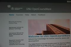 UN University Opencourseware