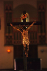 crucified for you  & me (Shaian) Tags: church christ shot god religion jesus picture an awsome your dhaka alter bangladesh digitalphotography crucifiction crucified farmgate foryouandme nikond80 preffered aplusphoto asianphotographer shaian chirtianity bangladeshiphotogrpaher amaeture bangladeshichurch holycorss