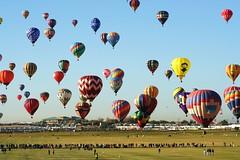 Sky Full Of Balloons 2 (Marvin Bredel) Tags: newmexico balloons hotair albuquerque marvin blueribbonwinner albuquerqueinternationalballoonfiesta marvin908 bredel marvinbredel