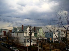 As the storm rolls in (VCH ) Tags: houses sky storm nature clouds newjersey view nj hudson bayonne hudsoncounty