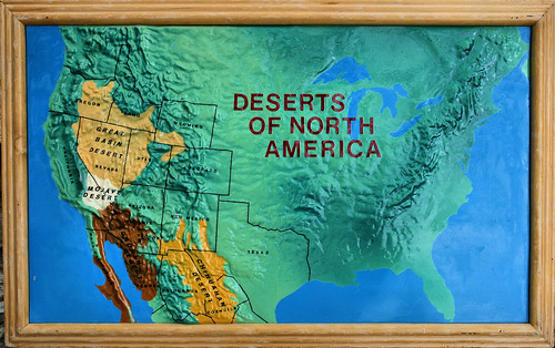 North America Map Deserts - Map of deserts in us