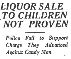 candy man headline