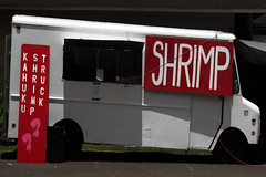 Haleiwa Old Town Shrimp Truck (BrianRope) Tags: red usa photography hawaii brian shrimp rope haleiwa