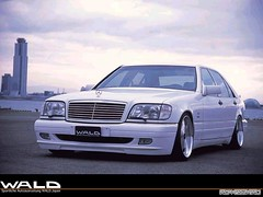 Wald Mercedes-Benz S-Class W140 (q8500e) Tags: auto classic cars look japan sedan germany mercedes benz cool automobile wolf king power sweet awesome great group super special sel wald v8 sclass w140 q8500e