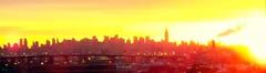 Blurry Manhattan Sunrise