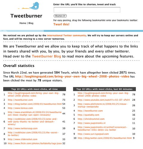 Tweetburner