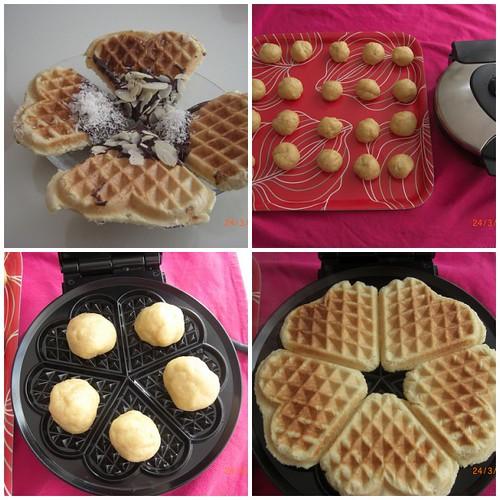 Waffle Kurabiye tarifi(resimli anlatım)