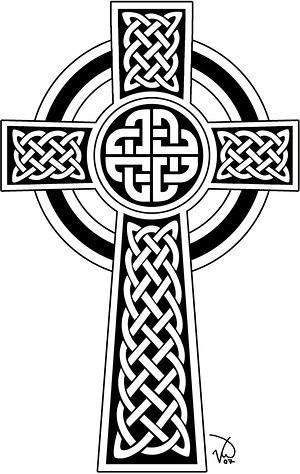 celtic cross tattoo design. Celtic Cross Design. Tattoo