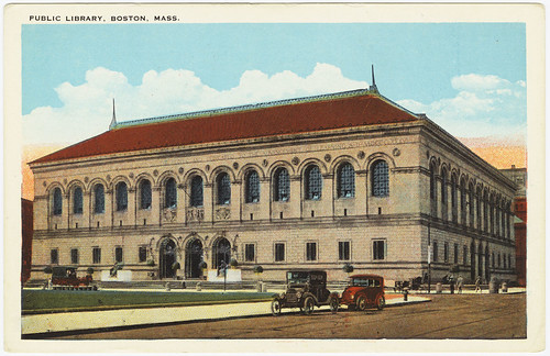 Public Library, Boston, Mass.