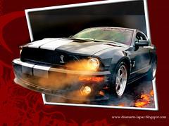 MUSTANG (disenartelapaz) Tags: car photoshop 3d shelby carro mustang diseñarte