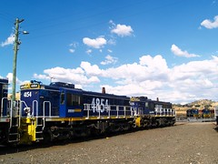 4854 and 48125 (Flying Donkey) Tags: nsw depot locomotive werriscreek 4854 48135