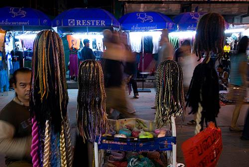 Hairdresser, Khao San Road, Bangkok
