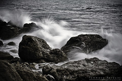 Water Rocks !!! (Korso87) Tags: sea storm nature rock canon land splash tempest canoniani