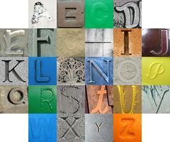 Monochromatic letters