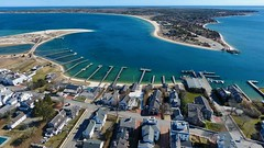 Edgartown, Martha's Vineyard (Chris Seufert) Tags: edgartown marthasvineyard capecod island chappaquiddick aerial drone harbor