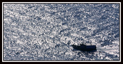 Back home safe (OtraVision()) Tags: ocean blue sea espaa water azul mar spain cabo agua barco ship galicia fisher oceano pescadores finisterre cabofinisterre mywinners otravision joseantoniohernandez