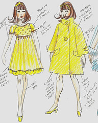 "Design sketch for OOAK Francie ""Party night"" (Virgin-Archer) Tags: stacey handmade ooak barbie ponytail fashiondoll midge hauser mattell reroot hongkonglilli bildlilli artistdolls repainetd fracnie japanesesunsunmalibu bubblecute teenagefashiondoll"
