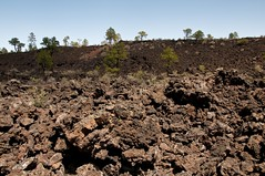 Sunset Volcano Crater Photo