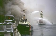 L.A. Harbor Warf Fire December 1967