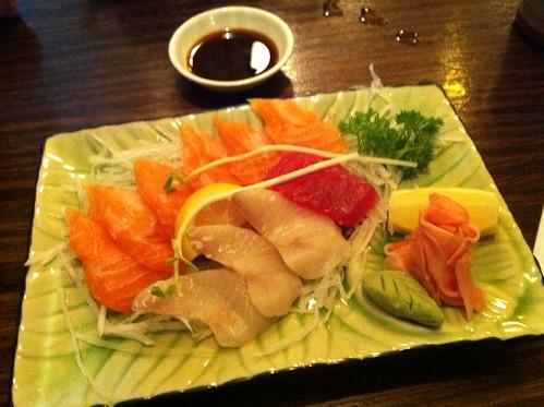 entree sashimi