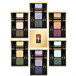 YSL雙色眼影試色 YSL ombres doulumleres eyeshadow duo