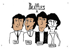 Los Beatles Reissue