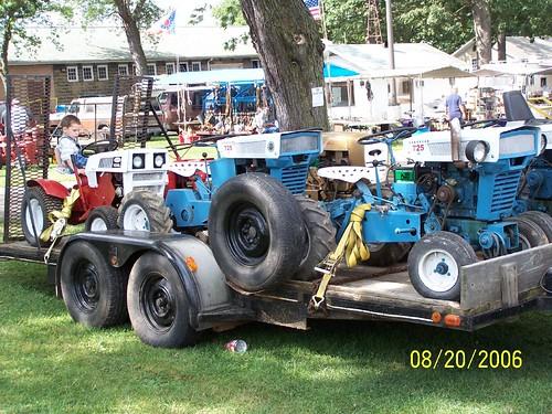 Garden Tractor Area