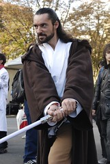 Guerre Stellari - Qui-Gon Jinn (M@rcello;-)) Tags: starwars cosplay lucca cosplayer guerrestellari quigonjinn luccacomics jedy luccagames lucca07 luccacomicsgames2007