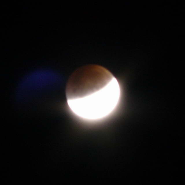 1. Lunar eclipse, 2007-08-28 09:22:39 UT (photographer: Michael McNeil)