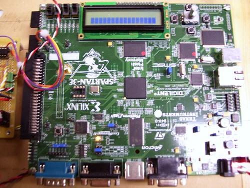 xilinx spartan 3e. Xilinx Spartan 3E FPGA