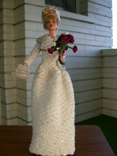 Princess Diana 1985 Beaded Gown
