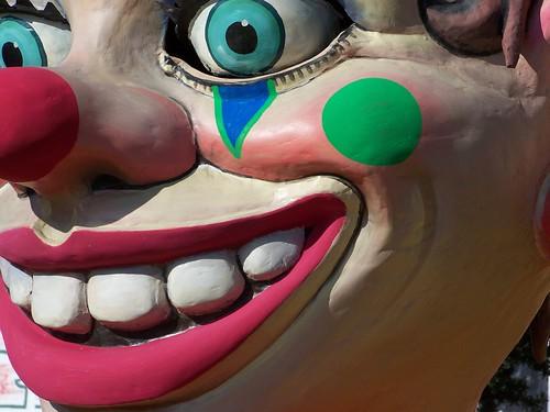 evil clown...
