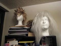 #259: Wigs galore (dejahthoris) Tags: cosplay wig 365 naruto roxas jiraiya 259