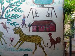 Pavagadh, Gujarat, India (balavenise) Tags: india men temple god religion devotion tribe shiva hindu hinduism gujarat pavagadh pithora pithorapainting ritualisticpainting lakhara jhokhara badwa