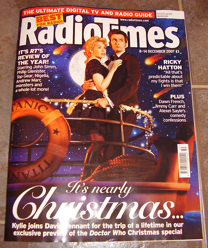 DR WHO - Radio Times Christmas Preview [Cover]