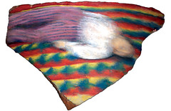 Untitled (Quilt) (tim lowly) Tags: brick quilt tempera collegeoflakecounty eyecandyart timlowly