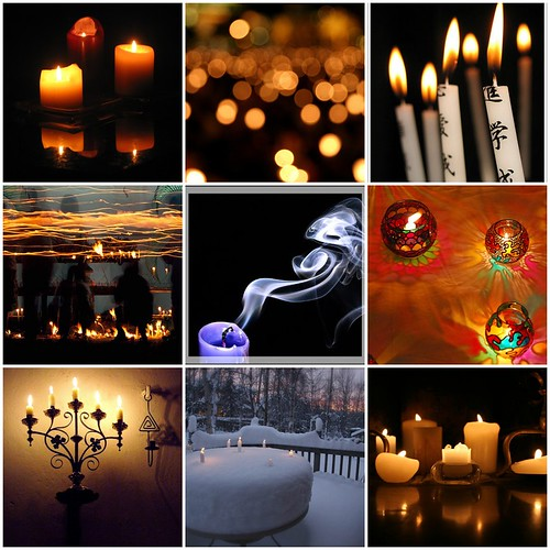 Mosaic friday: candles