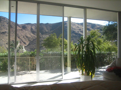 View from the master suite