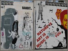 BCN Street Art 30 (SlapBcn) Tags: barcelona streetart wall stencil slap spencer bandit diferente paret guinardo canong7 difusor2007 slapbcn