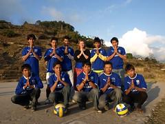 Namaste & Dhanyabad Everton (saralparker) Tags: nepal village gurung siklis sikles