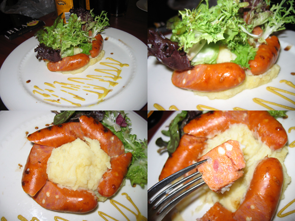 stewhaus cheese sausage
