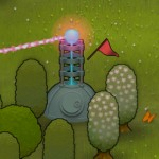 PixelJunk Monsters - Laser Tower