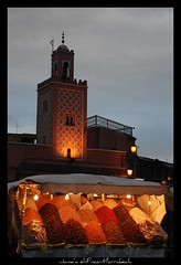 Jamaa el-Fnaa (Liv ) Tags: africa street travel blue light sunset red 2 people 3 man sahara tag3 night square 1 photo tag2 colours tag1 market minaret tag ivan hijab el mosque unesco morocco 09 maroc marocco marrakech souk medina afrika 2008 marruecos viaggio soe occidentale 08 koutoubia afrique fna lazzari mosquita jemaa marocchino  djemaa laiv   nikond80 anawesomeshot aplusphoto superbmasterpiece diamondclassphotographer flickrdiamond laivphoto  betterthangood theperfectphotographer marrki   313807n80001w316352788000278coordinate313807n80001w316352788000278