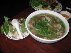 Bien Hoa: Pho xe lua (with egg noodles)